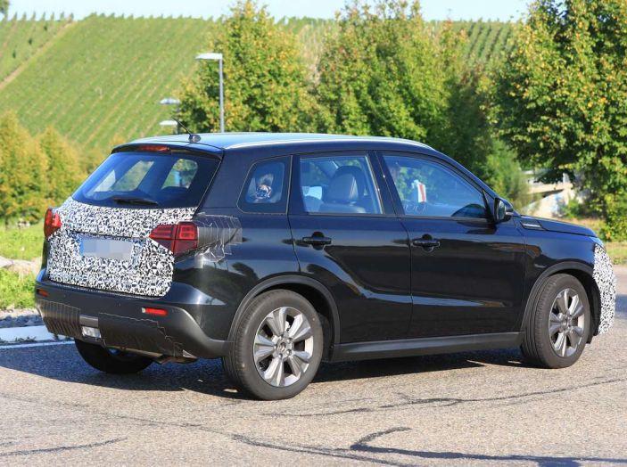 Suzuki Vitara Facelift primi dettagli tecnici e informazioni - Foto 14 di 16