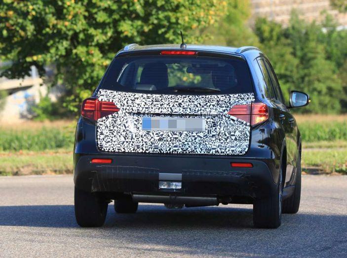 Suzuki Vitara Facelift primi dettagli tecnici e informazioni - Foto 16 di 16