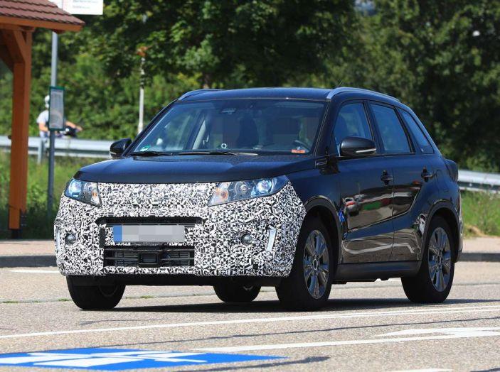 Suzuki Vitara Facelift primi dettagli tecnici e informazioni - Foto 2 di 16