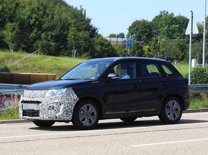 Suzuki Vitara Facelift primi dettagli tecnici e informazioni - Foto 5 di 16
