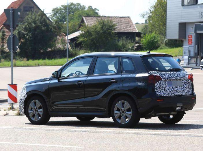 Suzuki Vitara Facelift primi dettagli tecnici e informazioni - Foto 7 di 16