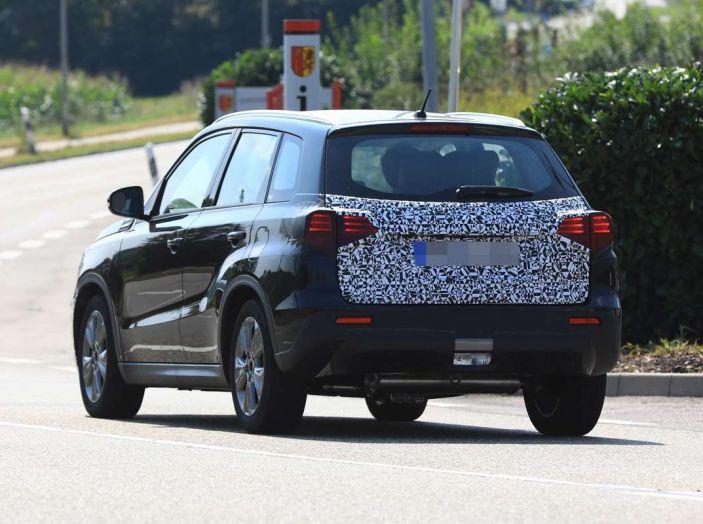 Suzuki Vitara Facelift primi dettagli tecnici e informazioni - Foto 9 di 16