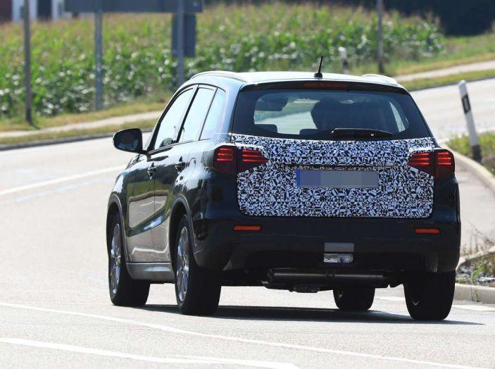 Suzuki Vitara Facelift primi dettagli tecnici e informazioni - Foto 10 di 16