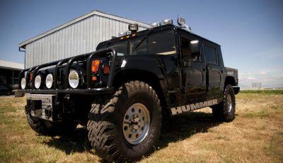 L'Hummer H1 del rapper Tupac sarà in vendita a 100.000 dollari