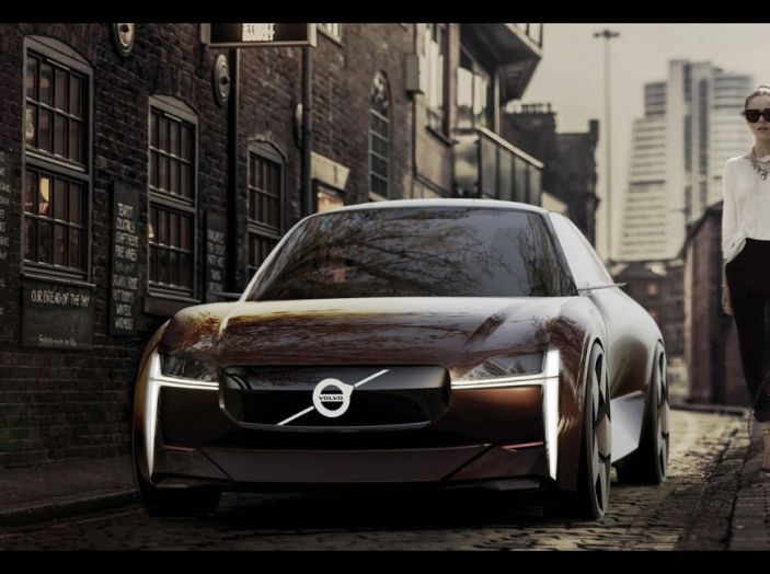 La Volvo elettrica in formato citycar per il 2019 - Foto 10 di 10