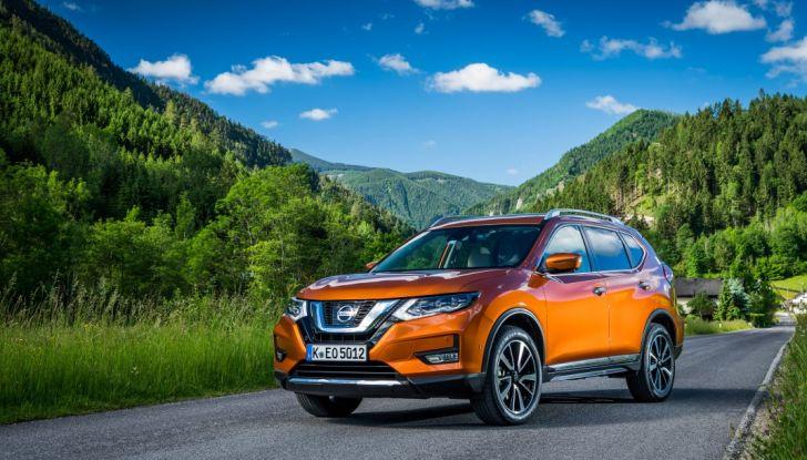 Nissan X-Trail 2018: Prova su strada, opinioni e dati tecnici del SUV 5 o 7 posti - Foto 3 di 36