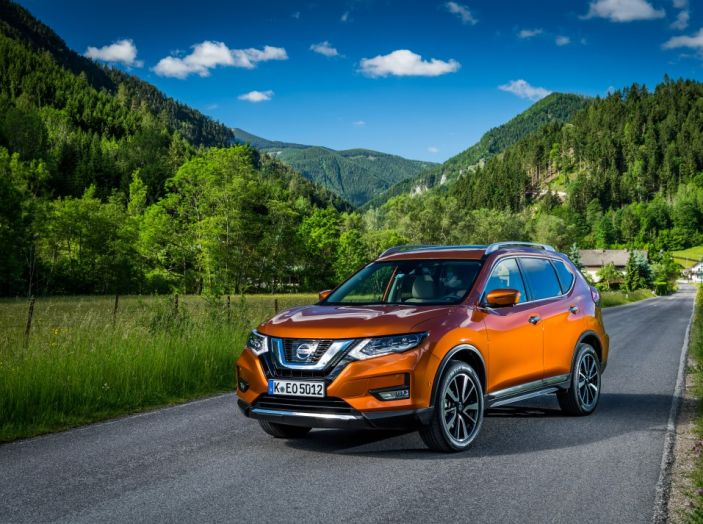Nissan X-Trail 2018: Prova su strada, opinioni e dati tecnici del SUV 5 o 7 posti - Foto 35 di 36