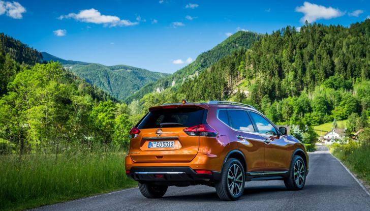Nissan X-Trail 2018: Prova su strada, opinioni e dati tecnici del SUV 5 o 7 posti - Foto 36 di 36