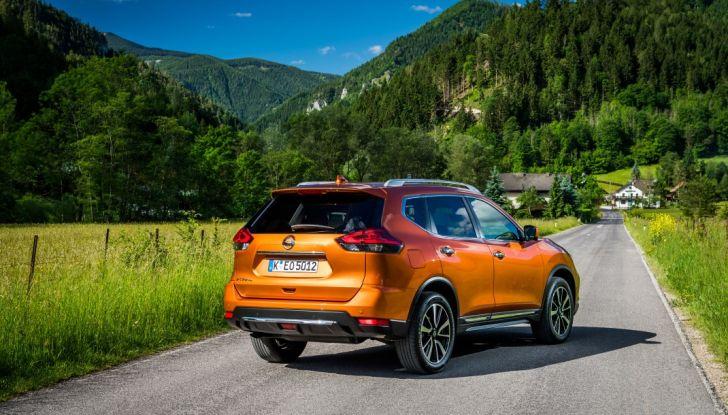 Nissan X-Trail 2018: Prova su strada, opinioni e dati tecnici del SUV 5 o 7 posti - Foto 7 di 36