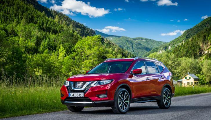Nissan X-Trail 2018: Prova su strada, opinioni e dati tecnici del SUV 5 o 7 posti - Foto 9 di 36