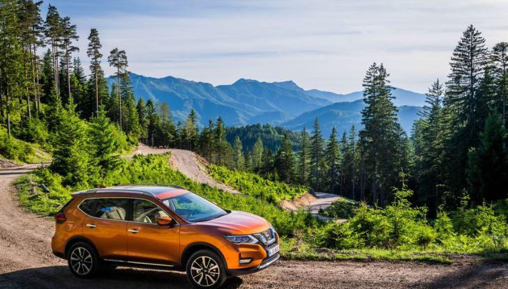 Nissan X-Trail 2018: Prova su strada, opinioni e dati tecnici del SUV 5 o 7 posti - Foto 22 di 36