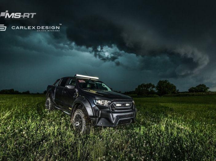 MS-RT e Carlex Design: il SUV di Valentino Rossi targato Ford - Foto 16 di 21