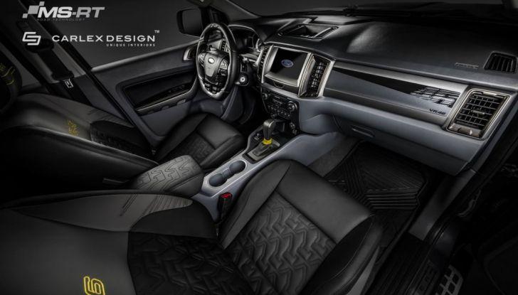 MS-RT e Carlex Design: il SUV di Valentino Rossi targato Ford - Foto 10 di 21