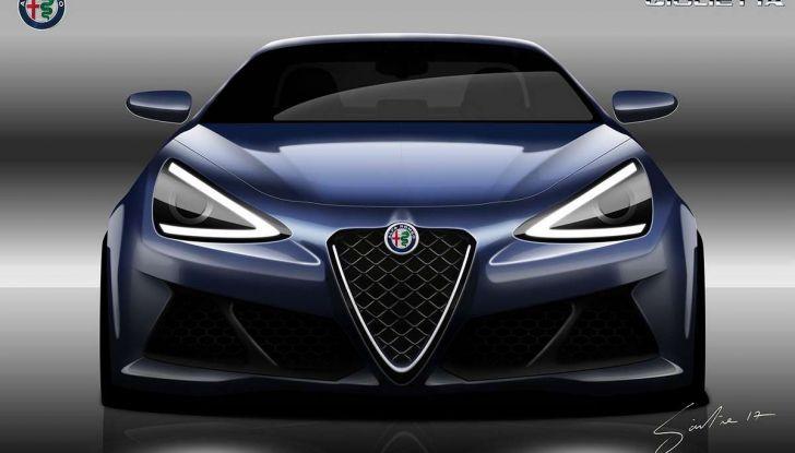 Alfa Romeo Giulietta nuova generazione: la vorreste così? - Foto 2 di 4
