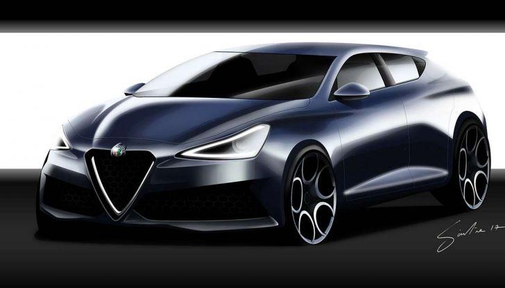 Alfa Romeo Giulietta nuova generazione: la vorreste così? - Foto 4 di 4