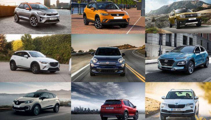 I 10 migliori SUV e Crossover compatti sotto i 20.000€ - Foto 1 di 13