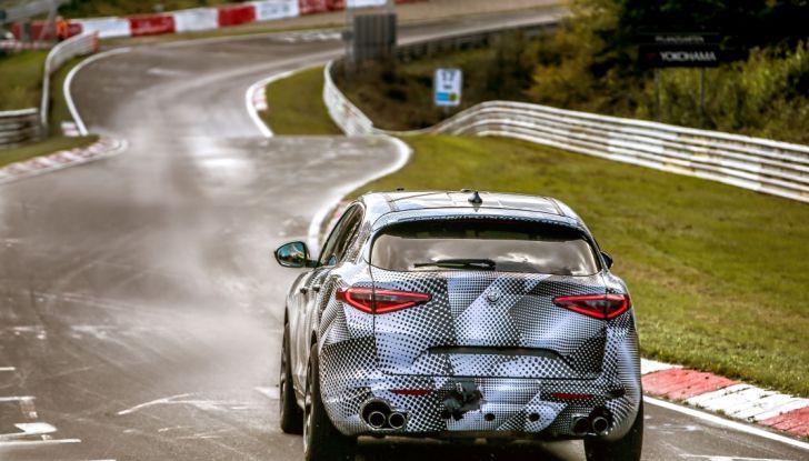 Alfa Romeo Stelvio Quadrifoglio, il SUV più veloce al mondo sul Nurburgring [Video] - Foto 14 di 14