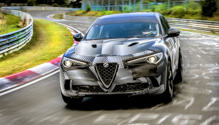 Alfa Romeo Stelvio Quadrifoglio, il SUV più veloce al mondo sul Nurburgring [Video] - Foto 4 di 14
