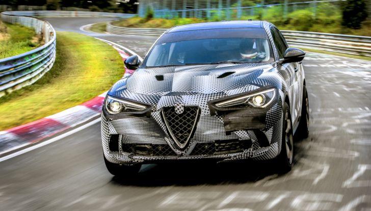 Record di Alfa Romeo Stelvio Quadrifoglio in quattro circuiti inglesi - Foto 4 di 14