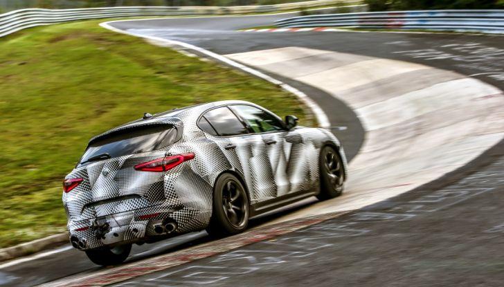 Record di Alfa Romeo Stelvio Quadrifoglio in quattro circuiti inglesi - Foto 10 di 14