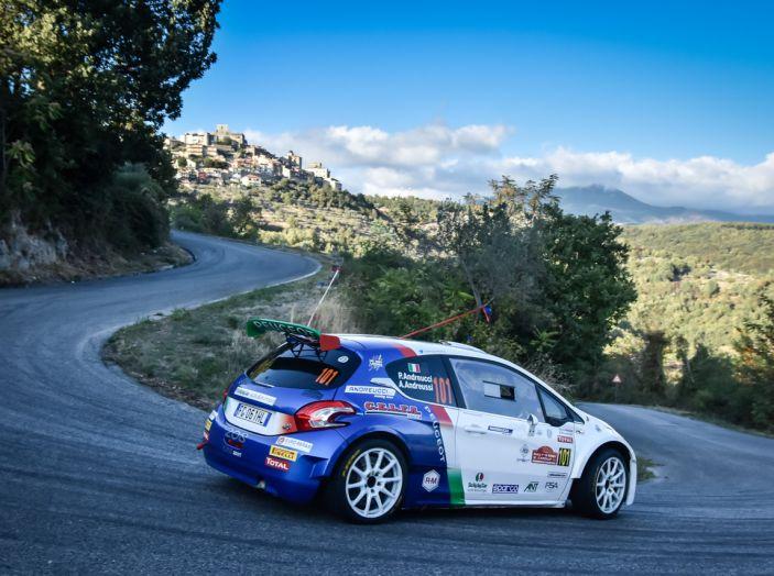 Rally di Roma- Paolo Andreucci (Peugeot 208 T16) ai nostri microfoni - Foto 2 di 2