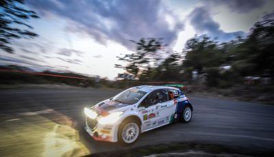 Rally di Roma - Peugeot sul podio in Tappa 1