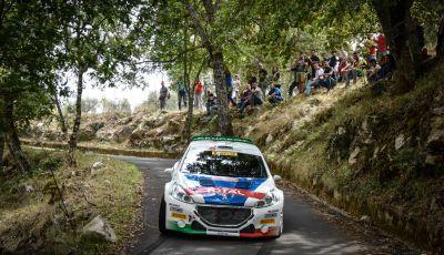 Rally di Roma – Paolo Andreucci (Peugeot 208 T16) difende il vantaggio in campionato