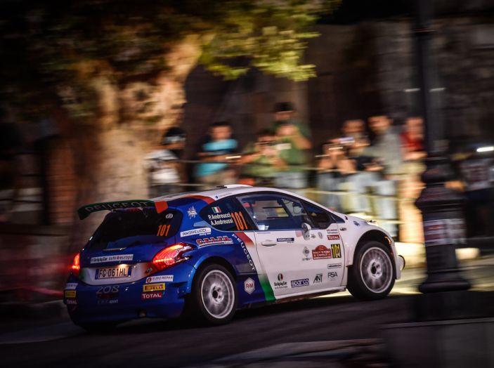 Rally di Roma – Voce ai piloti Peugeot, Andreucci e Pollara (neocampione 2 ruote motrici) - Foto 2 di 3