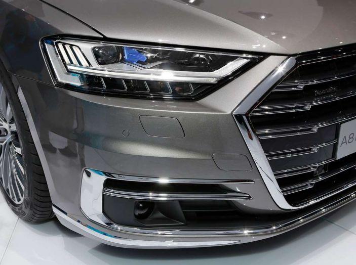 Nuova Audi A8 2017, l'ammiraglia con guida autonoma - Foto 4 di 13