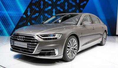 Nuova Audi A8 2017, l'ammiraglia con guida autonoma