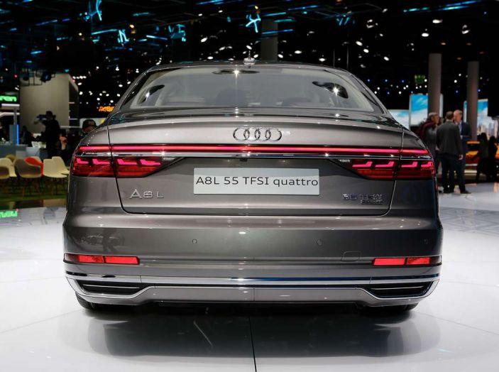 Nuova Audi A8 2017, l'ammiraglia con guida autonoma - Foto 5 di 13