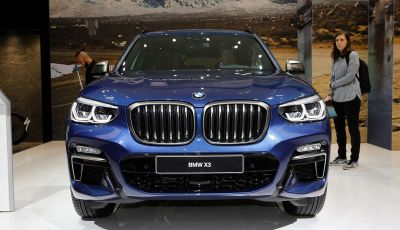 Nuova BMW X3 2017: nuovi motori e linee più decise