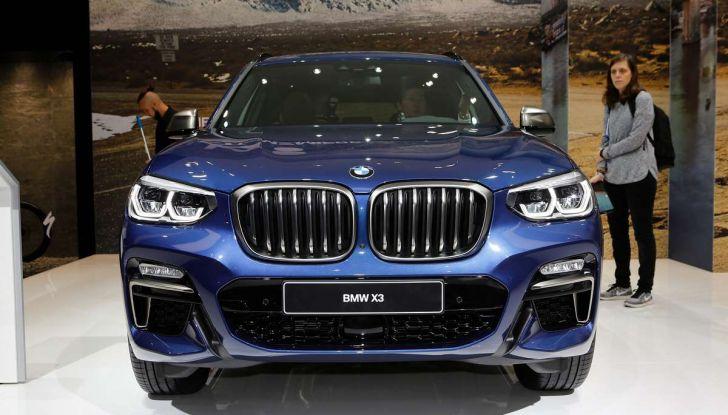 Nuova BMW X3 2017: nuovi motori e linee più decise - Foto 1 di 22