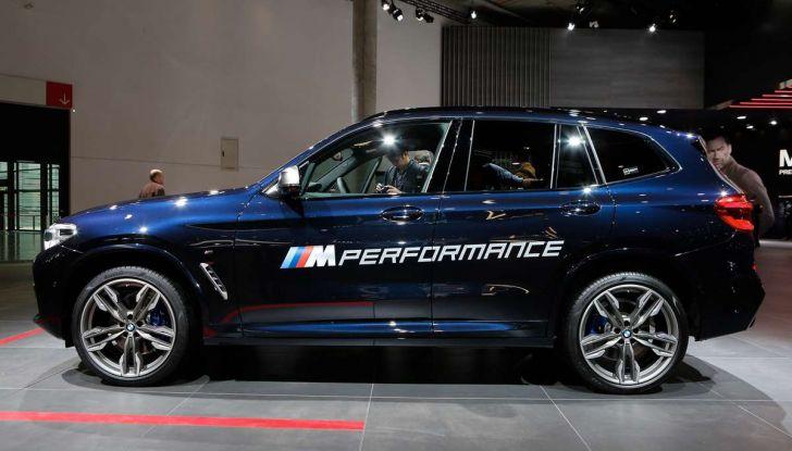 Nuova BMW X3 2017: nuovi motori e linee più decise - Foto 10 di 22