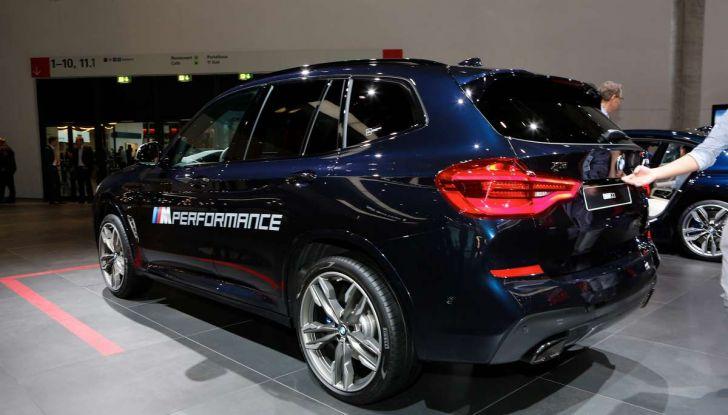 Nuova BMW X3 2017: nuovi motori e linee più decise - Foto 18 di 22