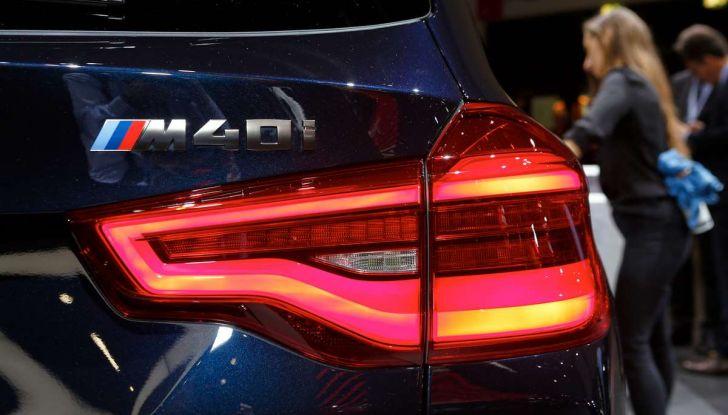 Nuova BMW X3 2017: nuovi motori e linee più decise - Foto 13 di 22