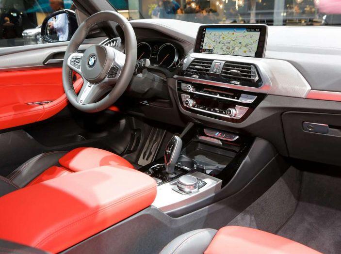 Nuova BMW X3 2017: nuovi motori e linee più decise - Foto 14 di 22