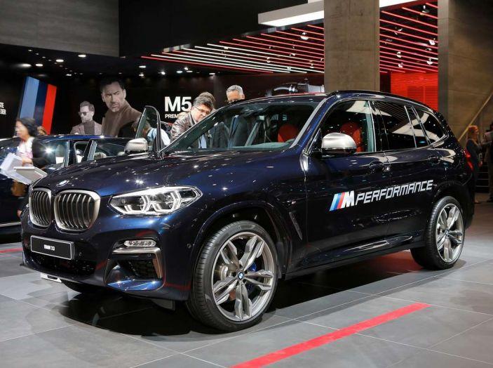 Nuova BMW X3 2017: nuovi motori e linee più decise - Foto 15 di 22