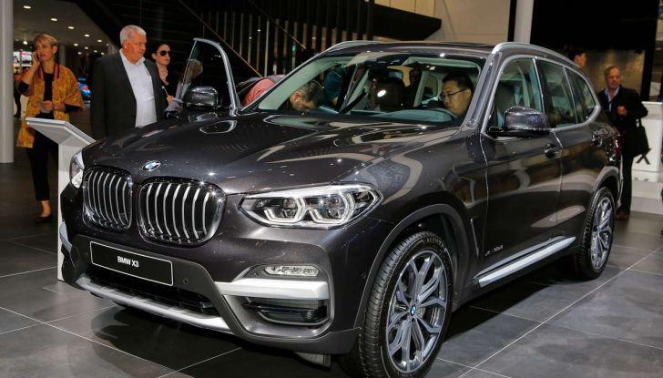 Nuova BMW X3 2017: nuovi motori e linee più decise - Foto 22 di 22