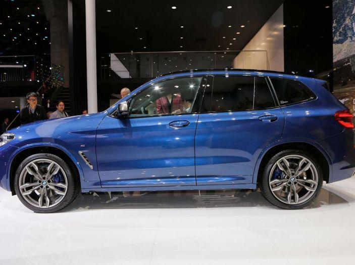 Nuova BMW X3 2017: nuovi motori e linee più decise - Foto 3 di 22