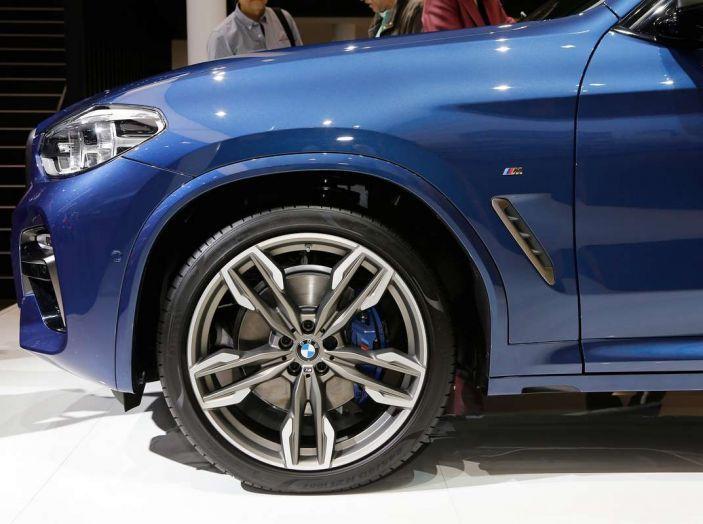 Nuova BMW X3 2017: nuovi motori e linee più decise - Foto 4 di 22