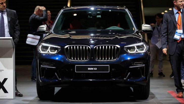 Nuova BMW X3 2017: nuovi motori e linee più decise - Foto 5 di 22
