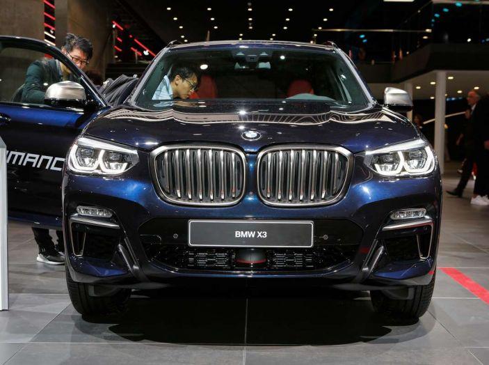 Nuova BMW X3 2017: nuovi motori e linee più decise - Foto 8 di 22