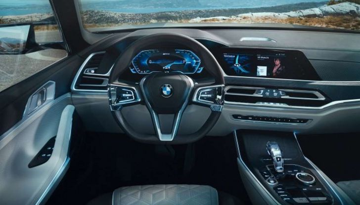 BMW X7 iPerformance, il SUV 7 posti a passo lungo - Foto 11 di 15