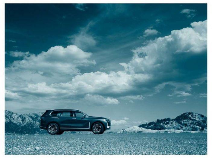 BMW X7 iPerformance, il SUV 7 posti a passo lungo - Foto 7 di 15