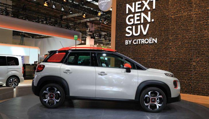 Citroen C3 Aircross, il SUV compattosecondo il Double Chevron - Foto 13 di 22