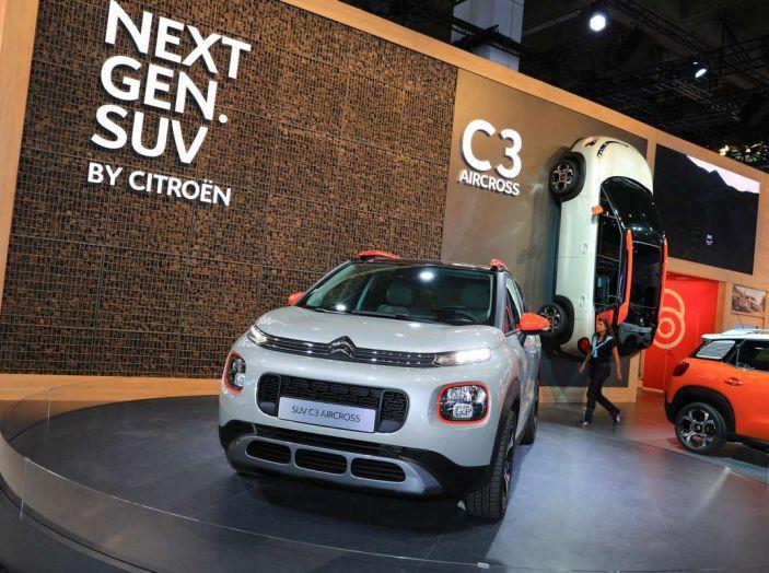 Citroen C3 Aircross, il SUV compattosecondo il Double Chevron - Foto 17 di 22