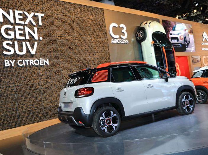 Citroen C3 Aircross, il SUV compattosecondo il Double Chevron - Foto 21 di 22