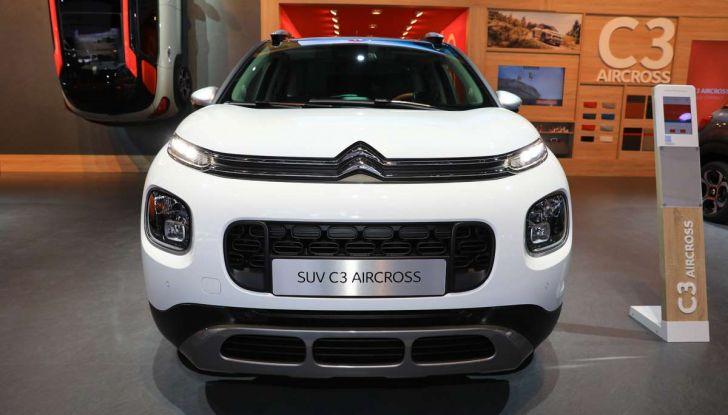 Citroen C3 Aircross, il SUV compattosecondo il Double Chevron - Foto 3 di 22