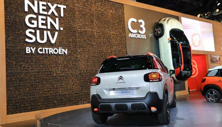 Citroen C3 Aircross, il SUV compattosecondo il Double Chevron - Foto 11 di 22